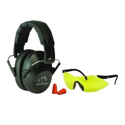 Pro-Low Profile Folding Muff/Glasses/Plugs Combo