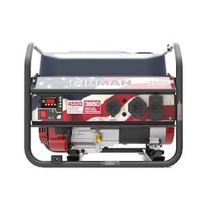 Performance Series 4,550-Watt/3,650-Watt Recoil Start Gas Powered Portable Generator with 208 cc Engine, RV Ready Outlet