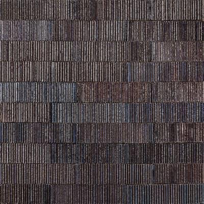 Weston Summit Dark Denim 2 in. x 9 in. Glazed Clay Subway Wall Tile (30-Piece 4.30 sq. ft./Case)