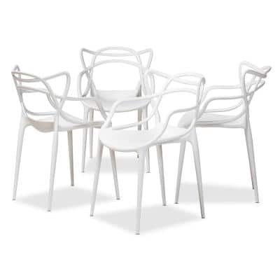Landry White Dining Chair (Set of 4)