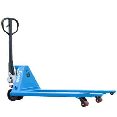 M25 5,500 lbs. 27 in. x 48 in. Manual Pallet Truck German Seal System with Polyurethane Wheels