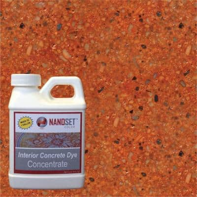 8-oz. Fire Opal Interior Concrete Dye Stain Concentrate