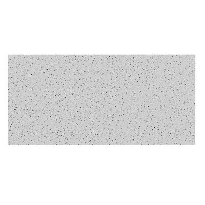 2 ft. x 4 ft. Radar Basic White Square Edge Lay-In Ceiling Tile, carton of 8 (64 sq. ft)