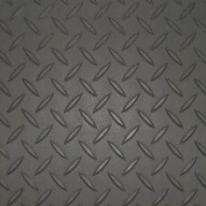 5 ft. x 35 ft. Charcoal Textured PVC Rollout Flooring