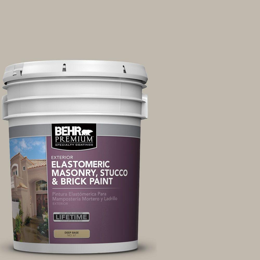 5 gal. #MS-49 Silverado Spur Elastomeric Masonry, Stucco and Brick Exterior Paint