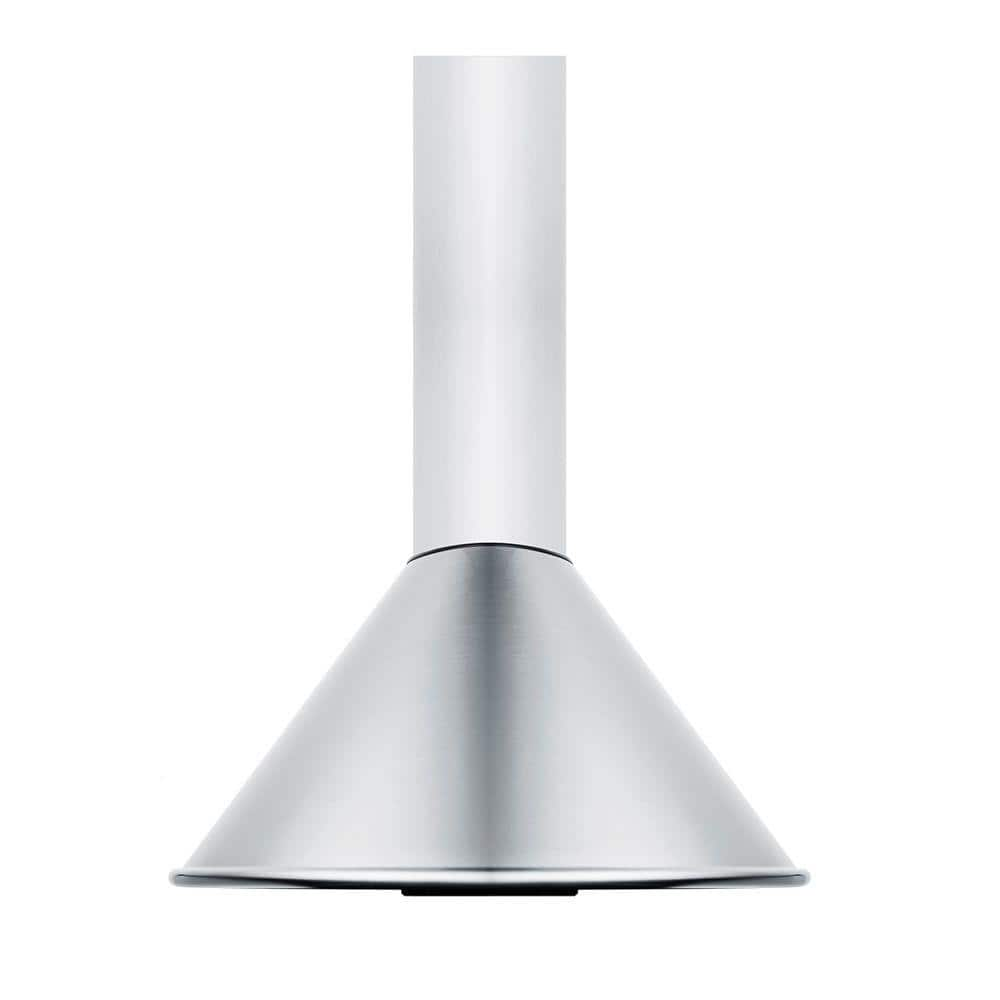 Summit Appliance 24 In Vented Range Hood In Stainless Steel Seh6624c The Home Depot