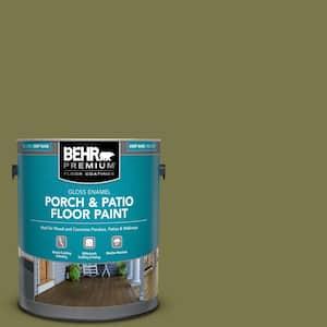1 gal. #S340-7A Garnish Gloss Enamel Interior/Exterior Porch and Patio Floor Paint