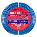 Cat6 100 ft. Blue 23-4 Riser Twisted Pair Cable
