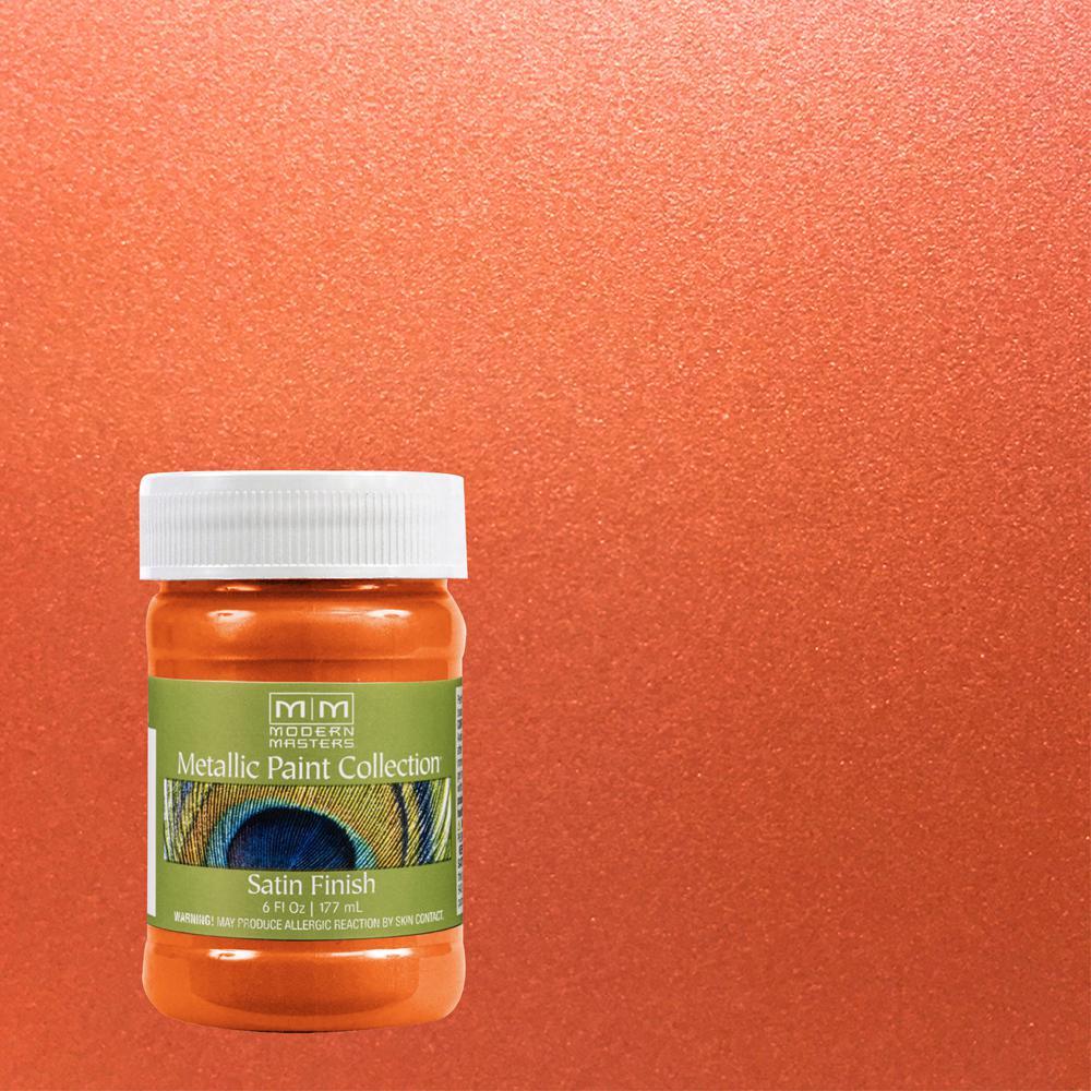 6 oz. Burnt Orange Metallic Interior Paint