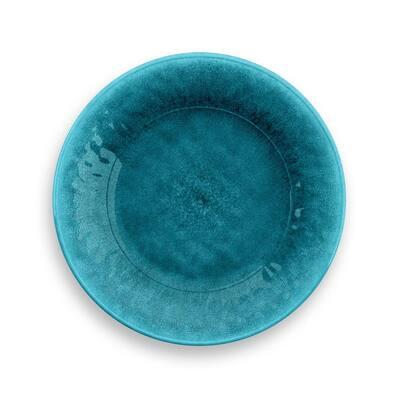 Potters Reactive Glaze Melamine Bowl Teal (Set of 6)