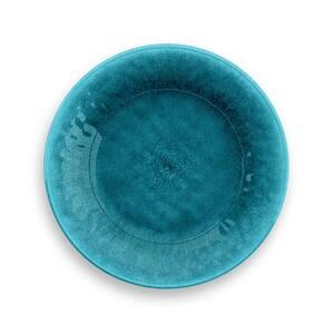 Potters Reactive Teal Glaze Melamine Salad Plate (Set of 6)