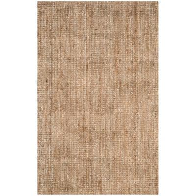 Natural Fiber Beige/Ivory 5 ft. x 8 ft. Indoor Area Rug