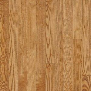 American Originals Spice Tan Oak 3/4 in. T x 5 in. W x Varying L Solid Hardwood Flooring (23.5 sq. ft/case)