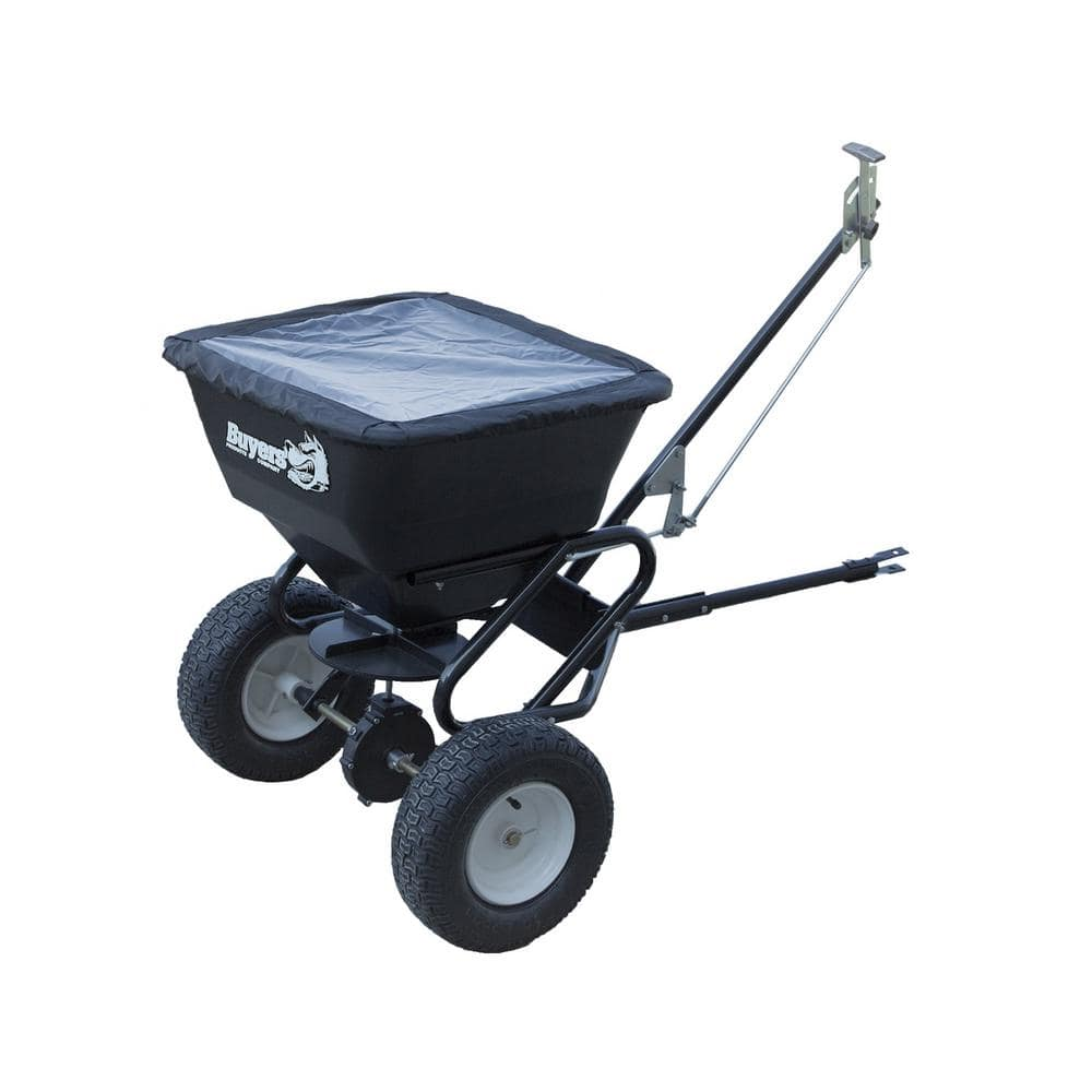 Buyers Products Company 100 Lbs Tow Behind Broadcast Spreader Tb150bg The Home Depot