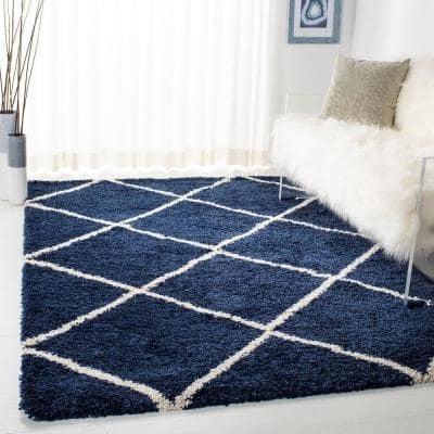 6 X 9 Blue Area Rugs Rugs The Home Depot