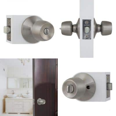 Brandywine Stainless Steel House Pack with 2 Entry, 2 Single Cylinder Deadbolts, 3 Privacy, 3 Passage Knobs
