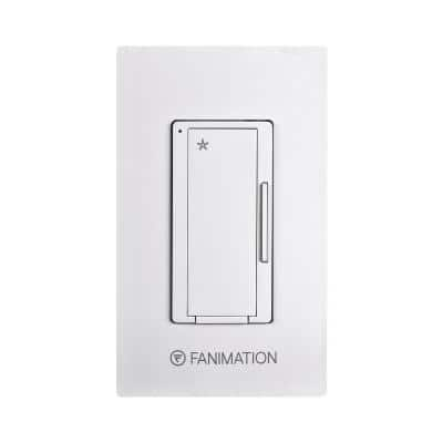 3-Speed Wall Switch, White