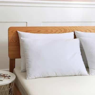 Cotton Duck Down Standard Pillow (Set of 2)