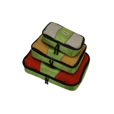 Packing Cubes-Set of 3, Lime