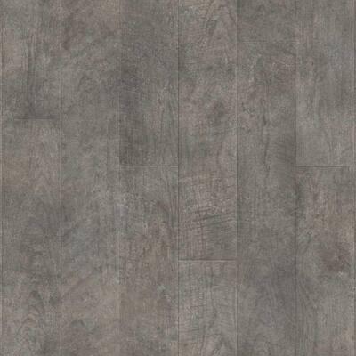 Graystone Oak Residential Vinyl Sheet, Sold by 12 ft. Wide x Custom Length