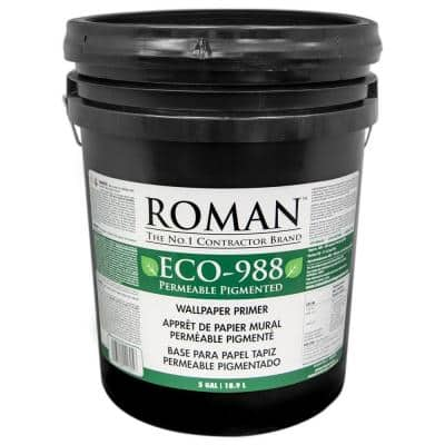 ECO-988 5 gal. Pigmented Wallcovering Primer