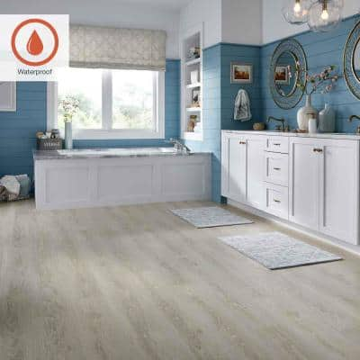 Outlast+ 7.48 in. W Sand Dune Oak Waterproof Laminate Wood Flooring (1079.65 sq. ft./pallet)