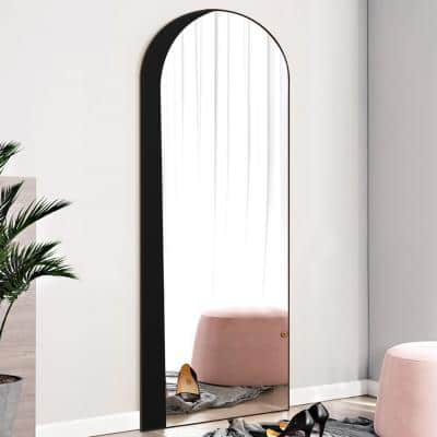 Arch Floor Mirrors The, Full Length Mirror Oval Top