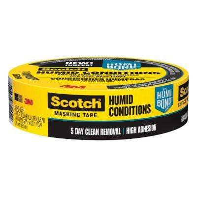Scotch 1.41 in. x 60.1 yds. Masking Tape for Humid Conditions (Case of 16)