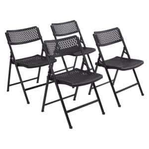 AirFlex Series Premium Polypropylene Folding Chair (Pack of 4)