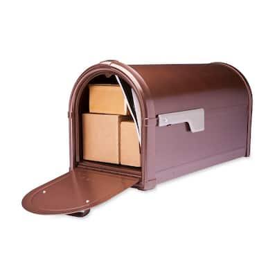Hillsborough Post Mount Mailbox Copper