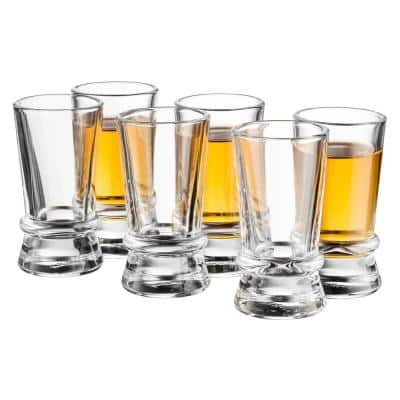 Afina 1.5 oz Shot Glasses, Set of 6