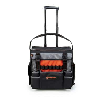 Crescent 18-in Tradesman Rolling Hand Tool Bag