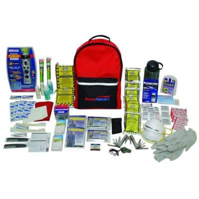 2-Person 3-Day Deluxe Emergency Kit with Backpack