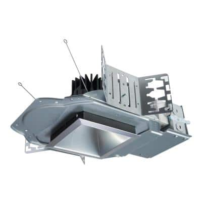 LD4B 4 in. Integrated LED Recessed Light Housing at 1000 Lumens, 1% Dimmable Driver, New Construction