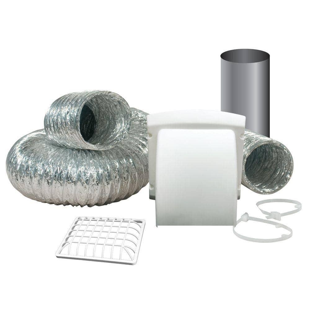 "4/"" x 8/' Aluminum Dryer to Duct Vent Kit"