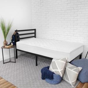 Bedding Essentials in. Medium Standard Memory Foam Twin Mattress Topper