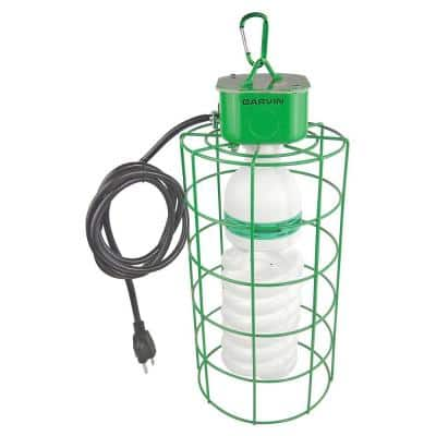 105-Watt Temporary Work-Light with Super Bright Compact Fluorescent Bulb and 6 ft. Cord