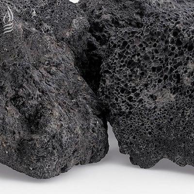 XXL Black Lava Rock (4 in. - 6 in.) 10 lbs. Bag