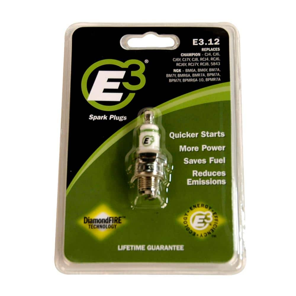 E3 13/16 in. Spark Plug for 2-Cycle and 4-Cycle Engines