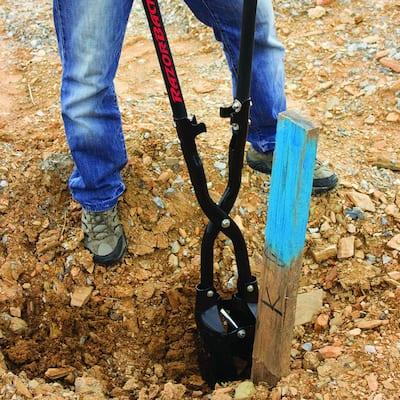 Fiberglass Handle Post Hole Digger