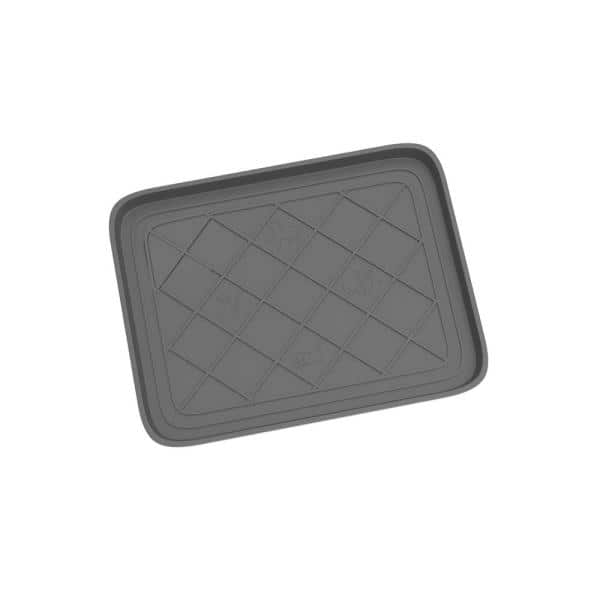 Stalwart Gray 19 75 In X 15 5 In All Weather Boot Tray Hw5500075 The Home Depot