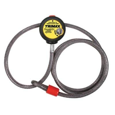 Multi-Use Versa-Cable Lock - 6 ft. Long