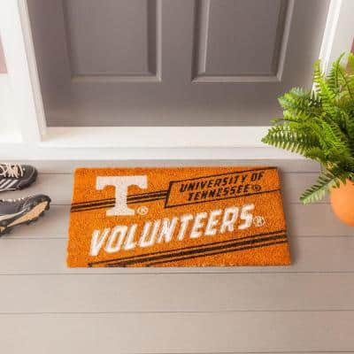 16 in. x 28 in. University of Tennessee Coir Punch Mat