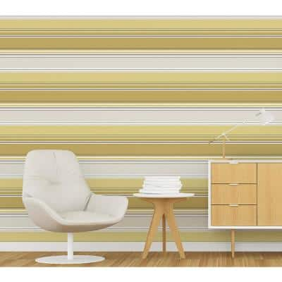 Energy Yellow Striped Peelable Roll (Covers 56.4 sq. ft.)