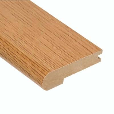 Oak Summer 3/8 in. Thick x 3-1/2 in. Wide x 78 in. Length Stair Nose Molding