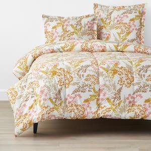 Company Cotton Florescence Multi-Colored Full Cotton Percale Comforter
