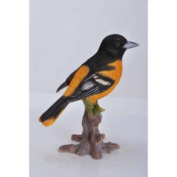 Hi Line Gift Oriole On Branch Garden Statue 87758 D The Home Depot