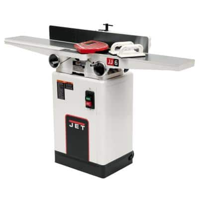 1 HP 6 in. Woodworking Jointer with Quick-Set Knive System, 115/230-Volt, JJ-6CSDX
