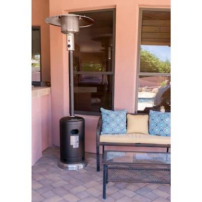 41000 BTU Mocha Propane Gas Promotional Tall Patio Heater