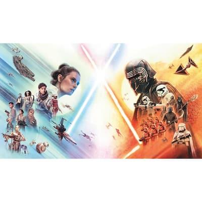 Star Wars The Rise Of Skywalker Blue, Orange Vinyl Peelable Roll (Covers 63 sq. ft.)